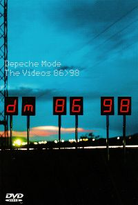 Cover Depeche Mode - The Videos 86>98 [DVD]
